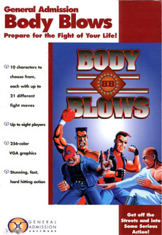Portada de la descarga de Body Blows