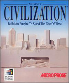 Carátula del juego Sid Meier's Civilization (PC)