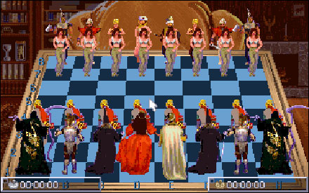 Pantallazo del juego online National Lampoon's Chess Maniac 5 Billion and 1 (PC)