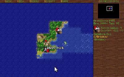 Pantallazo del juego online Sid Meier's Colonization (PC)