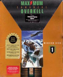 Carátula del juego Comanche - Maximum Overkill (PC)