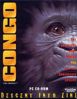 Portada de la descarga de Congo: The Movie – Descent into Zinj
