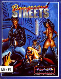 Portada de la descarga de Dangerous Streets