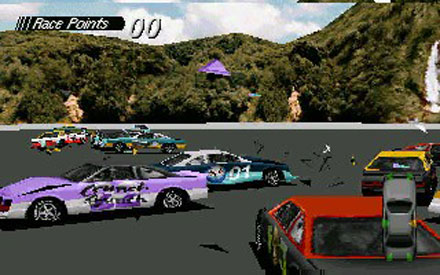 Pantallazo del juego online Destruction Derby (PC)