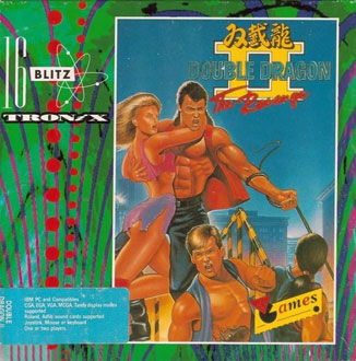 Portada de la descarga de Double Dragon 2: The Revenge