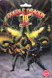 Portada de la descarga de Double Dragon III: The Rosetta Stone