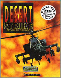 Carátula del juego Desert Strike - Return To the Gulf (PC)