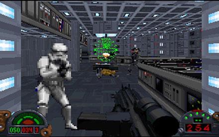 Pantallazo del juego online Star Wars Dark Forces (PC)