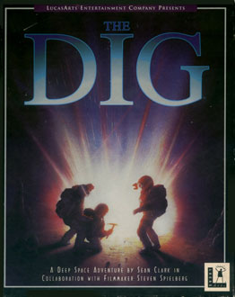 Portada de la descarga de The Dig