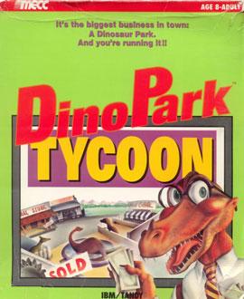 Carátula del juego Dino Park Tycoon (PC)
