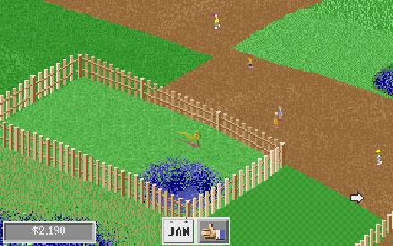 Pantallazo del juego online Dino Park Tycoon (PC)