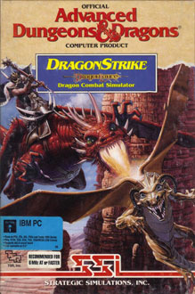 Portada de la descarga de Advanced Dungeons & Dragons – DragonStrike