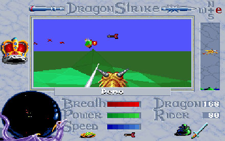 Pantallazo del juego online Advanced Dungeons & Dragons - DragonStrike (PC)