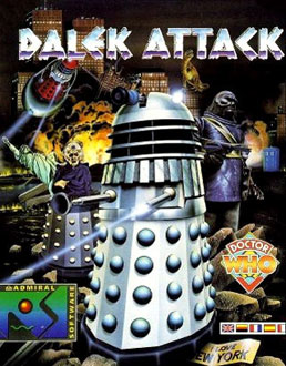 Portada de la descarga de Doctor Who – Dalek Attack