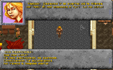Pantallazo del juego online Dark Sun - Wake of the Ravager (PC)
