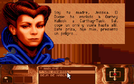 Pantallazo del juego online Dune (PC)
