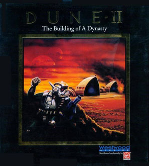 Portada de la descarga de Dune II: The Building of a Dynasty