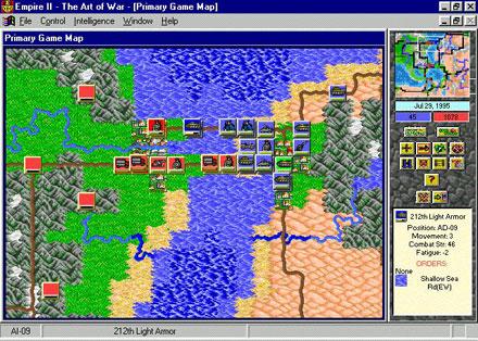 Imagen de la descarga de Empire II: The Art of War