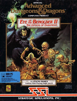 Portada de la descarga de Eye of the Beholder II – The Legend of Darkmoon