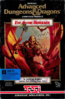 Carátula del juego Eye of the Beholder (PC)