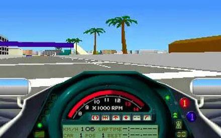 Pantallazo del juego online Formula 1 Grand Prix (PC)
