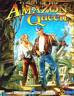 Portada de la descarga de Flight of the Amazon Queen