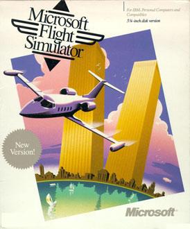 Portada de la descarga de Microsoft Flight Simulator 3