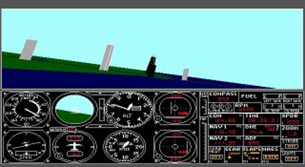 Imagen de la descarga de Microsoft Flight Simulator 3