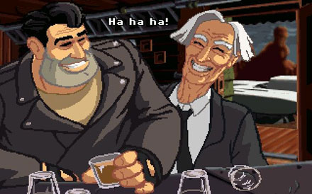 Pantallazo del juego online Full Throttle (PC)