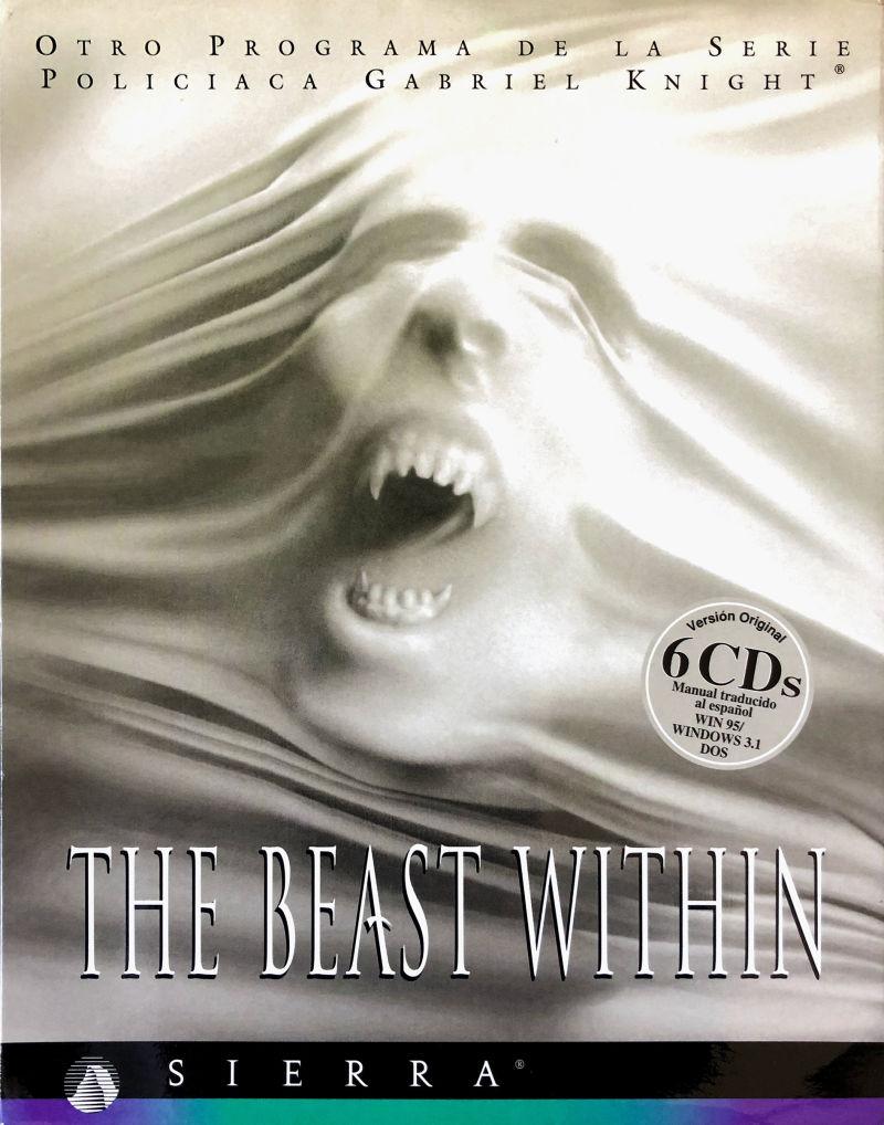 Portada de la descarga de Gabriel Knight 2: The Beast Within