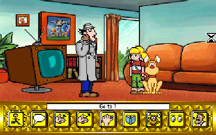 Pantallazo del juego online Inspector Gadget Mission 1 - Global Terror (PC)