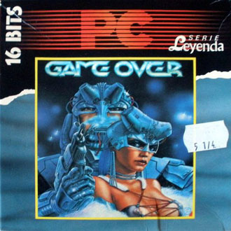 Portada de la descarga de Game Over