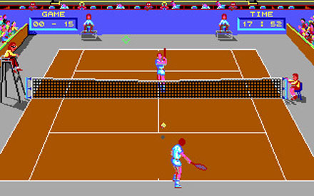Pantallazo del juego online Great Courts (PC)