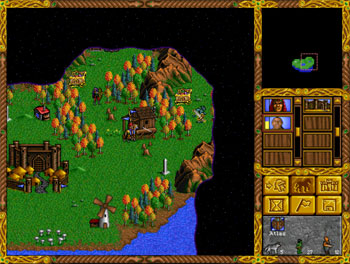 Pantallazo del juego online Heroes of Might and Magic (PC)