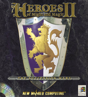 Portada de la descarga de Heroes of Might and Magic II: The Succession Wars
