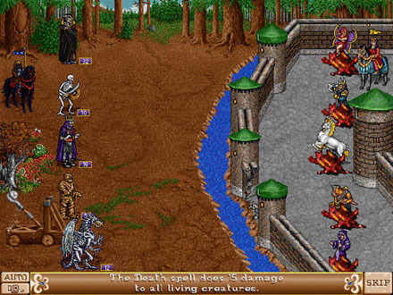 Imagen de la descarga de Heroes of Might and Magic II: The Succession Wars