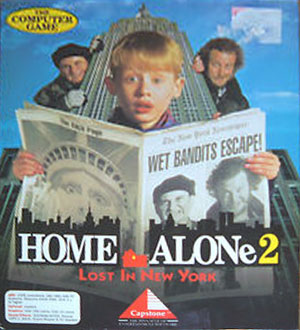 Portada de la descarga de Home Alone 2: Lost in New York