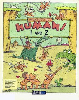 Carátula del juego Humans 2 The Jurassic Levels (PC)
