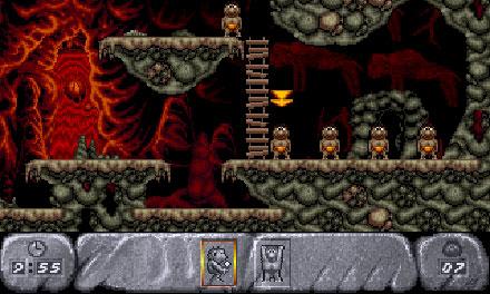 Pantallazo del juego online Humans 2 The Jurassic Levels (PC)