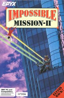 Portada de la descarga de Impossible Mission II