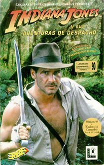 Portada de la descarga de Indiana Jones y sus Aventuras de Despacho