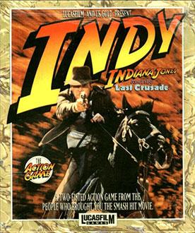 Portada de la descarga de Indiana Jones and the Last Crusade: The action Game