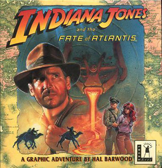 Carátula del juego Indiana Jones and the Fate of Atlantis (PC)