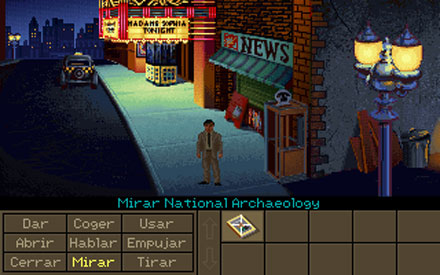 Pantallazo del juego online Indiana Jones and the Fate of Atlantis (PC)
