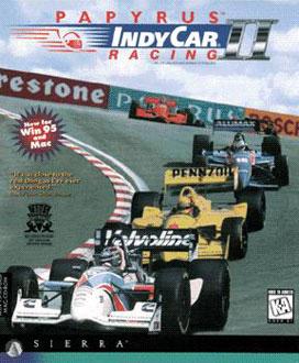 Portada de la descarga de Indycar Racing 2