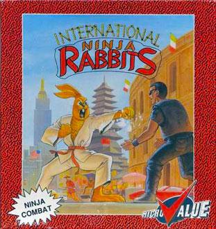 Portada de la descarga de International Ninja Rabbits