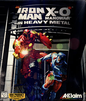 Portada de la descarga de Iron Man X-O Manowar in Heavy Metal