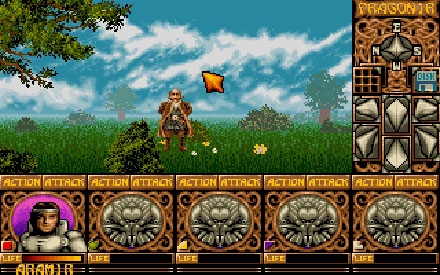 Pantallazo del juego online Ishar - Legend of the Fortress (PC)