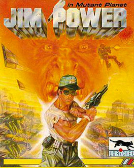 Juego online Jim Power in Mutant Planet (PC)