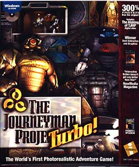 Portada de la descarga de The Journeyman Project Turbo